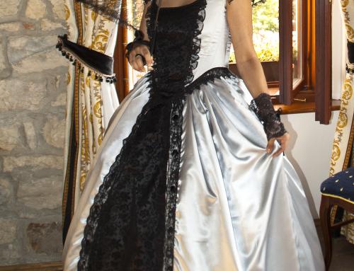 Kleid Nebula Argentum