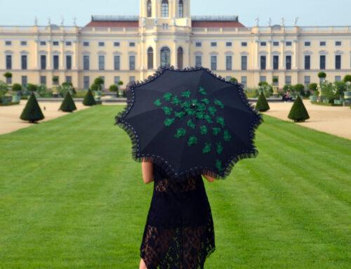 Wiederherstellung eines alten Schirmes